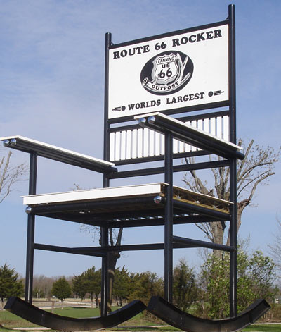 Worlds Largest Rocker