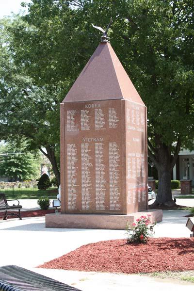 Veterans Memorial Cuba Missouri