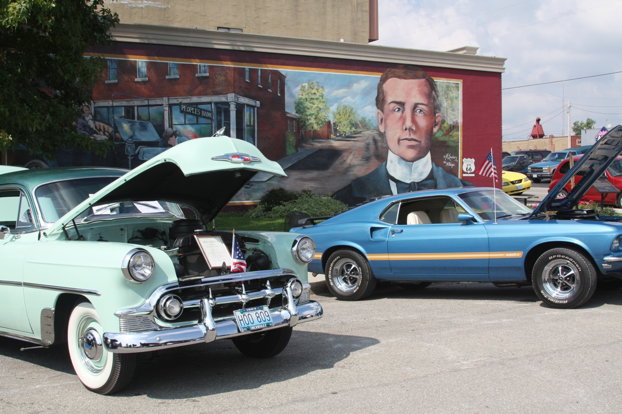 Cuba, Missouri LIons Club Car Show