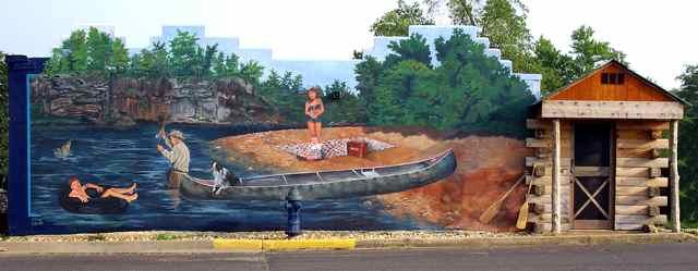 Cuba, Missouri River Mural