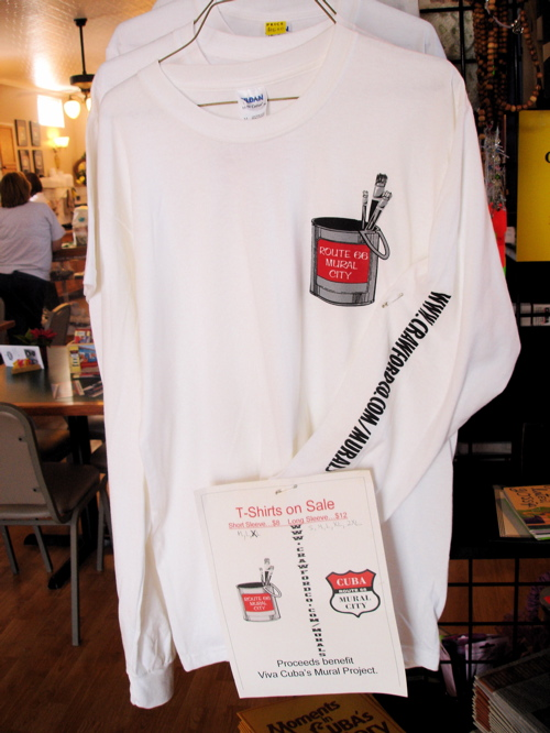 Route 66 mural city candy bar wrapper gets new design for Murals on the t shirt