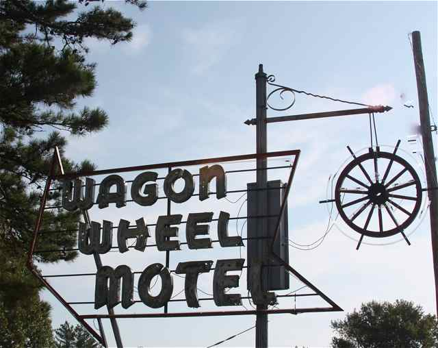 The Wagon Wheel sign will be able to beckon a new generation of travelers.