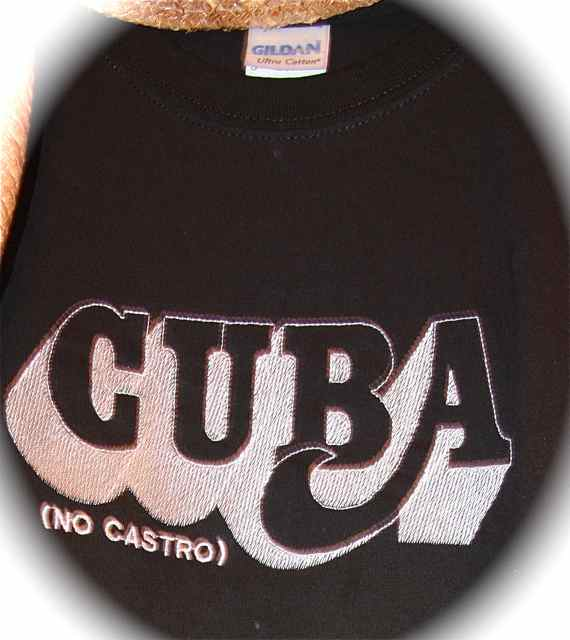 The Cuba (No Castro) t-shirt is available at the Fanning Outpost General Store.