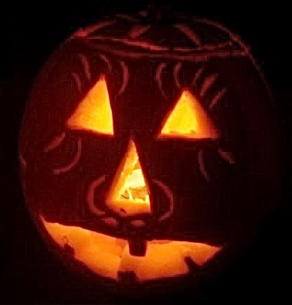 One of Viva Cuba's young friends shared this photo of his jack-o'-lantern.