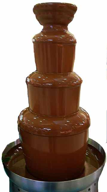 Java.net's chocolate fountain will tempt tourers on Dec. 6