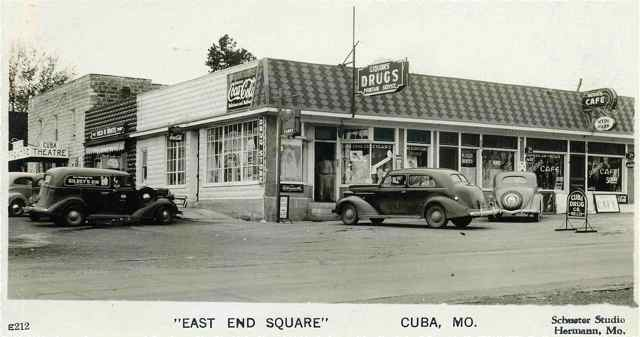 The East End Square (now home of the East Office Bar & Grill) was a happening place back-in-the-day. From the Joe Sonderman photo collection.