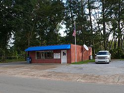 The Cuba, Alabama Post Office