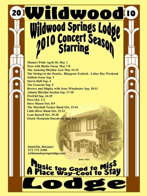 Wildwood concerts 2010