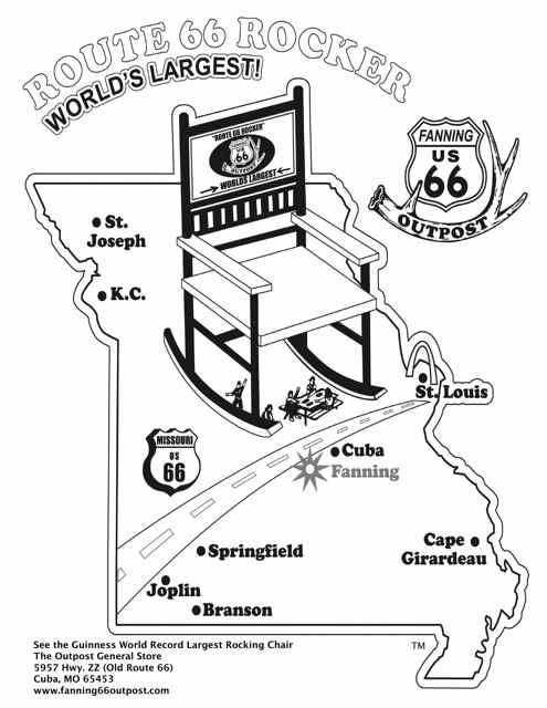 Astounding Does The Route 66 Worlds Largest Rocking Chair Rock Cuba Alphanode Cool Chair Designs And Ideas Alphanodeonline
