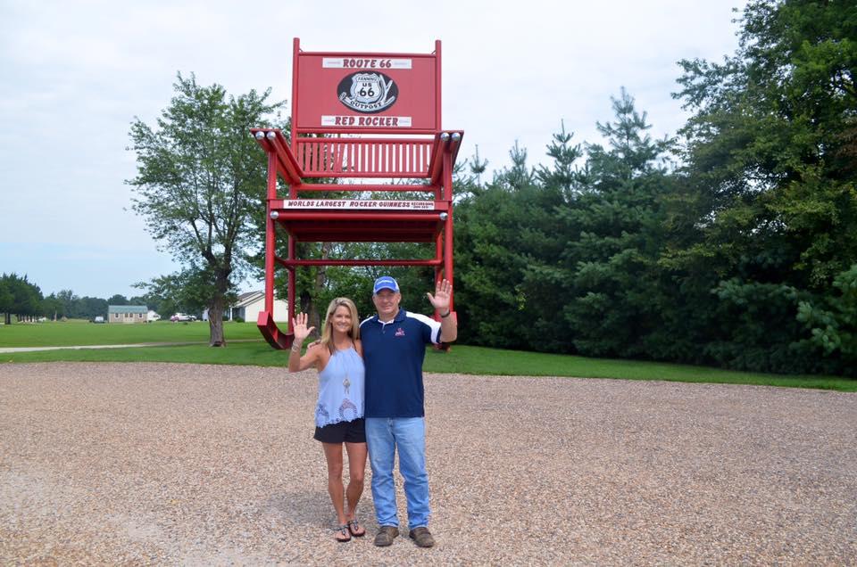 Superb Route 66 Landmark Guinness Worlds Largest Rocking Chair Alphanode Cool Chair Designs And Ideas Alphanodeonline