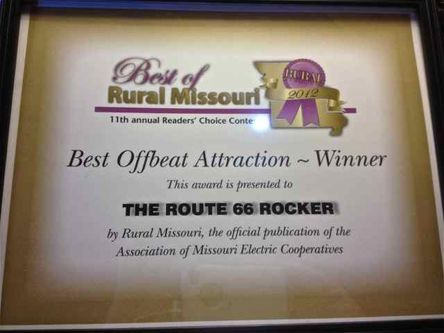Missouri's Best Offbeat Attraction goes to...