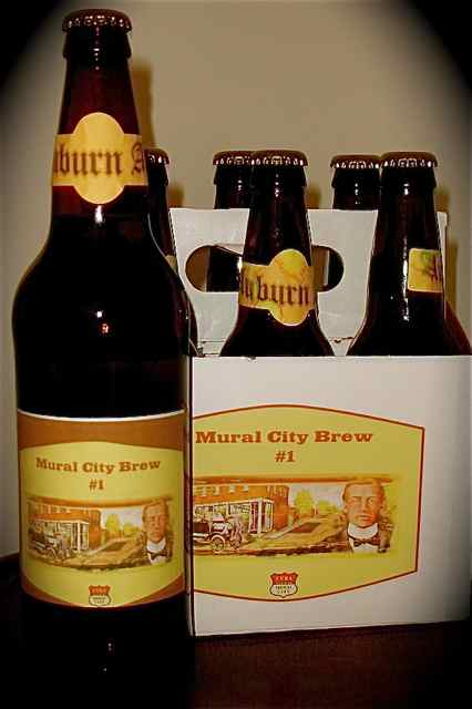 The limited edition Mural City Brew will soon be available at local watering holes.