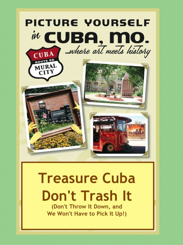 Treasure Cuba, Don't Trash It