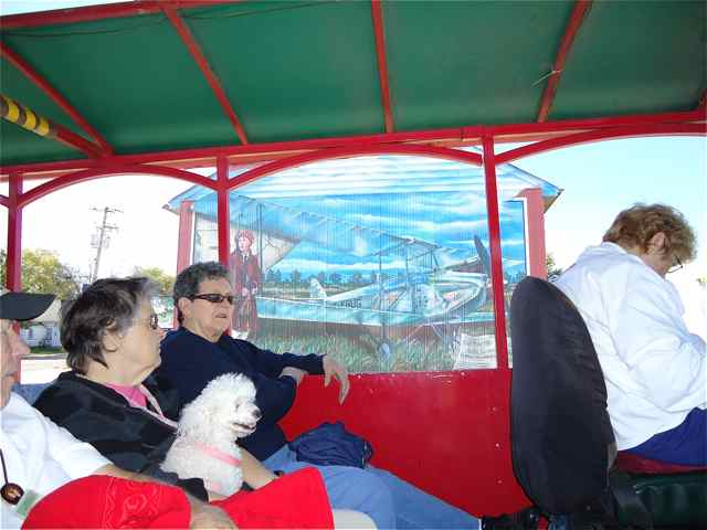 Dog on Trolley Tour