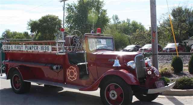 Old Cuba MO Firetruck