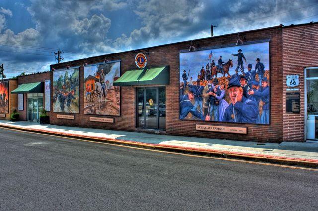 Cuba MO Civil War Murals