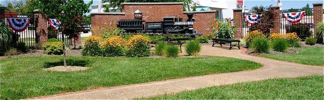 Viva Cuba Garden Train Replica Cuba MO
