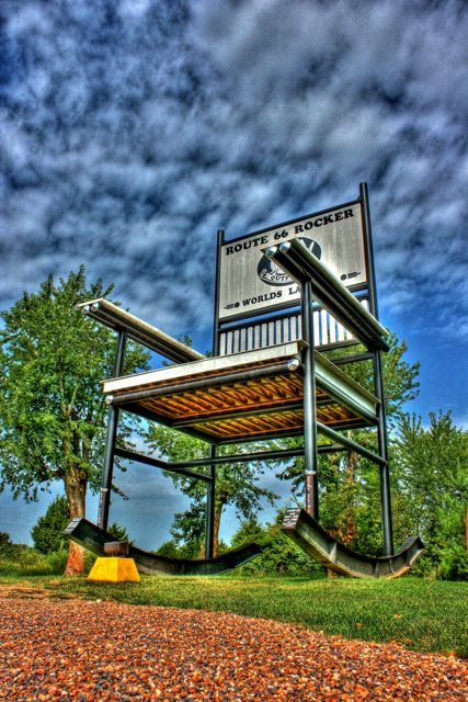 Cuba MO World's Largest Rocking Chair