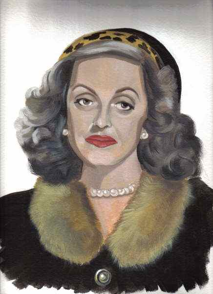 Bette Davis artist Ray Harvey