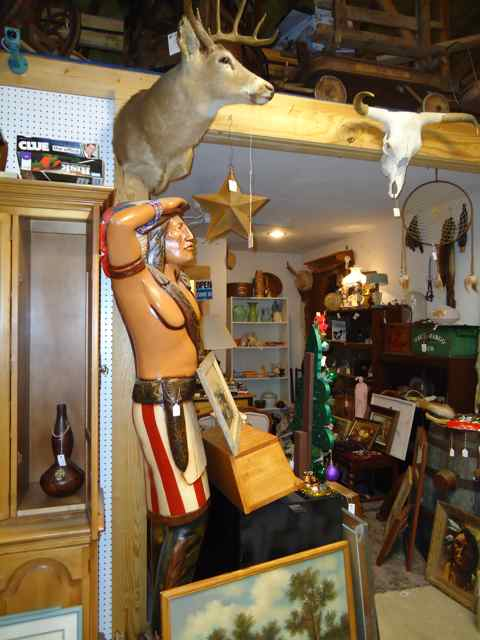 Cuba, Missouri Cigar Star Indian Two Olde Crows Antique Mall