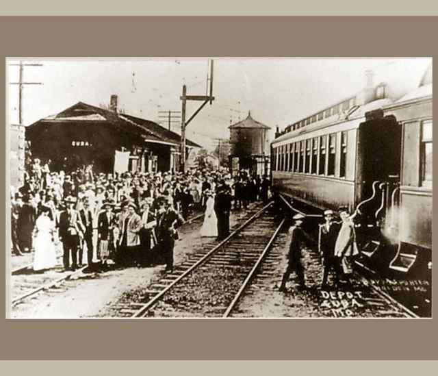 Cuba, Missouri Train Depot