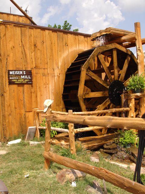 Cuba, Missouri Waterwheel MO Hick