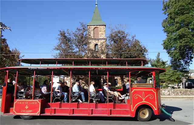 Cuba Fest Trolley Tour Cuba, Missouri