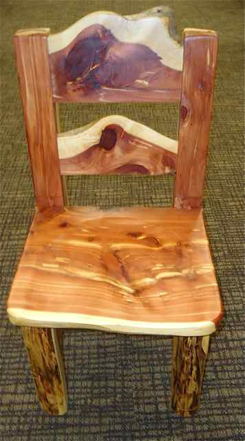 Primitive Dining Chair from MO Hick Cuba MO