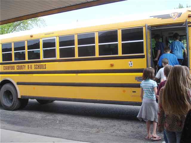 Cuba, Missouri School Bus Tour