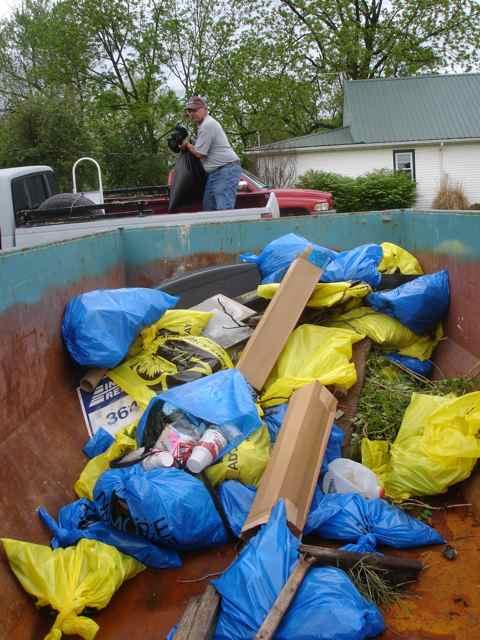Trash Dumpster Cuba, MIssouri