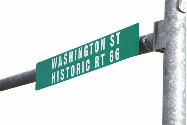 Route 66 sign Cuba, MO