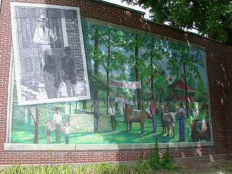 Truman mural/4-H