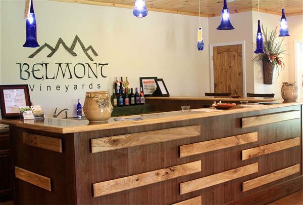 Belmont Vineyards Tasting Room