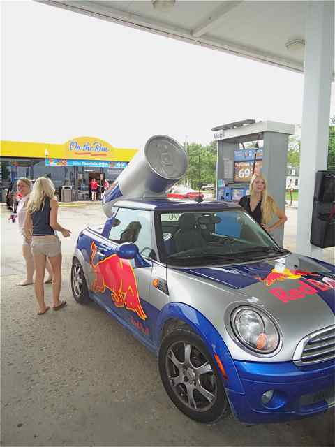 Red Bull Car Cuba Missouri