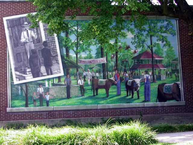 Cuba Missouri Truman County Fiar Mural