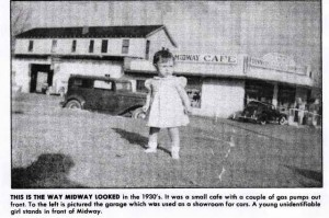 Early Midway Cafe & Garage Cuba Missouri