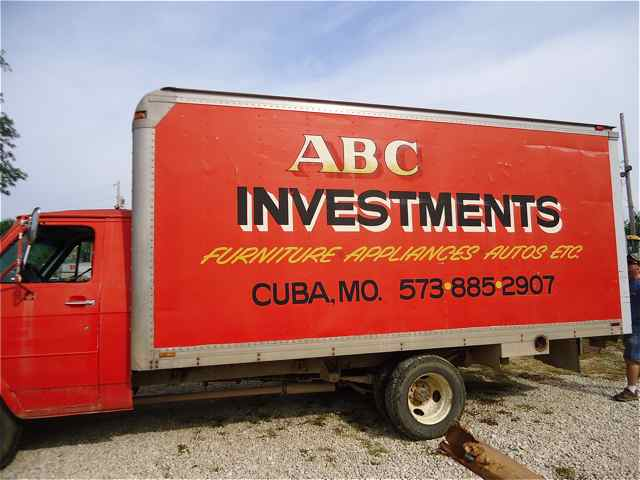 ABC Investment truck Cuba, Missouri