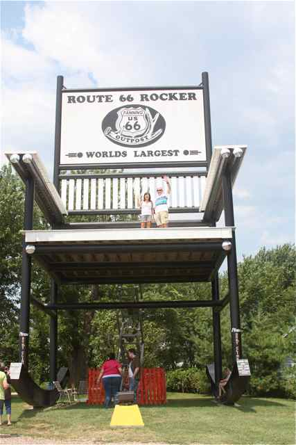 Route 66 Largest Rocking Chair