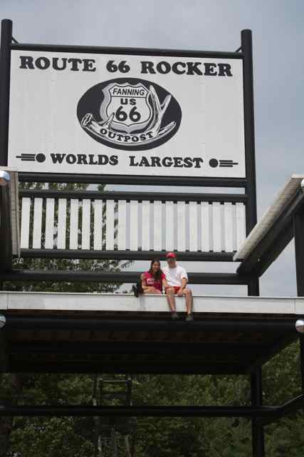 Cuba Missouri World's Largest Rocking Chair