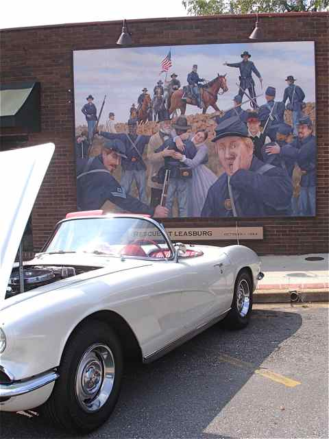 Car show Cuba, Missouri  Mural District