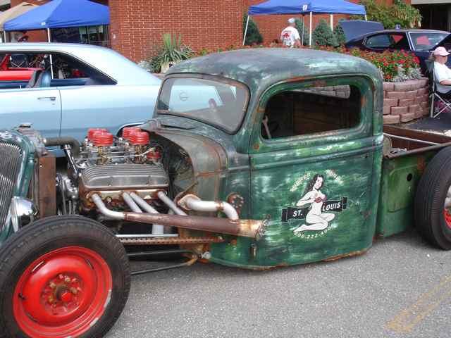 Rat truck Cuba, Missouri Car Show