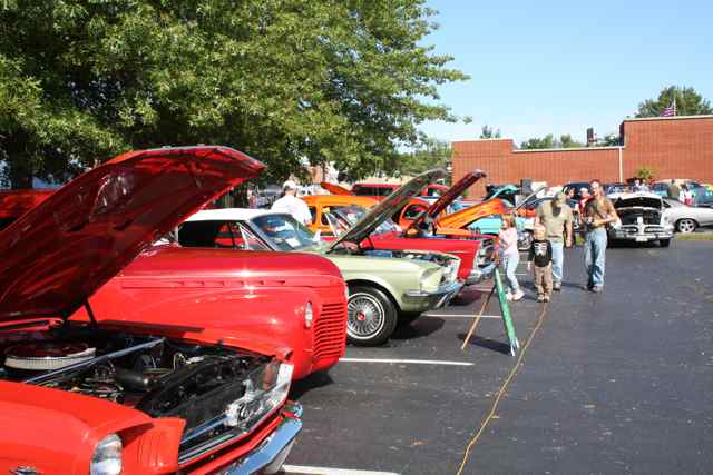 Lions Club Car Show Cuba, Missouri