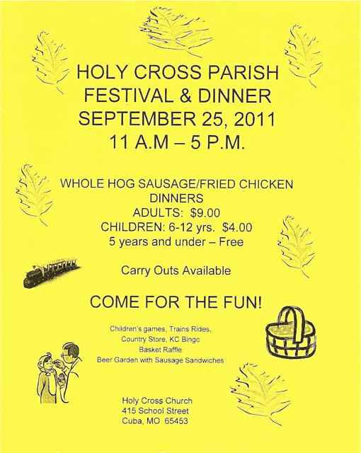 Holy Cross Parish Picnic & Dinner