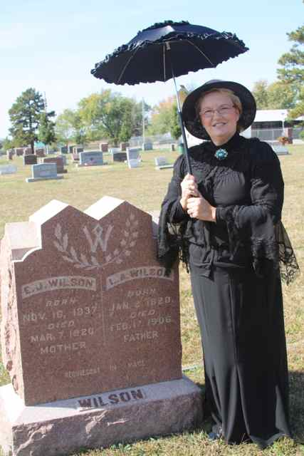 Historical figures form 2010 Cemetery tour