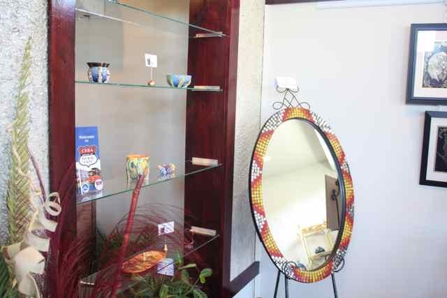 Mosaic Mirror Spirals Art Gallery Cuba