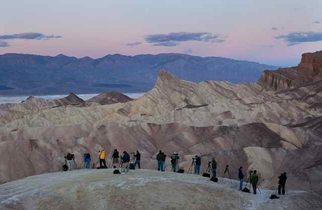 John Herman photo Zabriski Point Death Valley