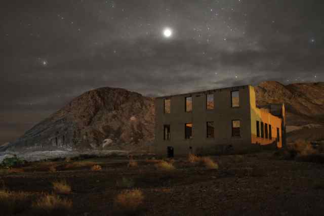 John Herman Photo Death Valley Ghost town