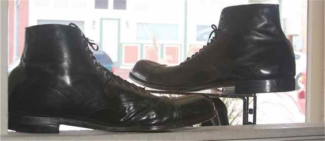 Two Robert Wadlow Shoes