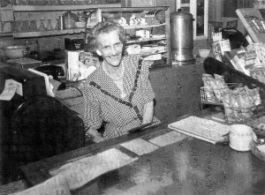 Blanche Rook Midway Cashier 1950s