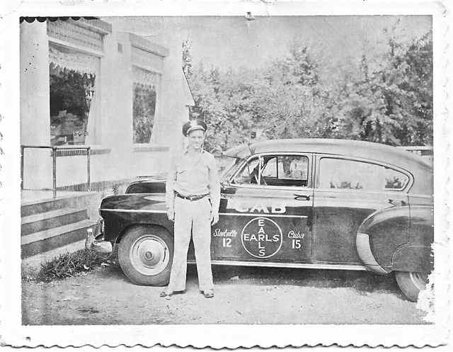 vintage Midway Cab Cuba, Missouri